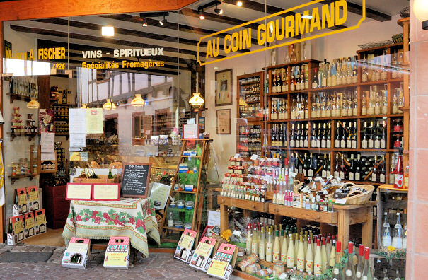 Boutique Au Coin Gourmand à Riquewihr