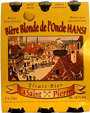 Coffret de bi�res blondes Saint Pierre
